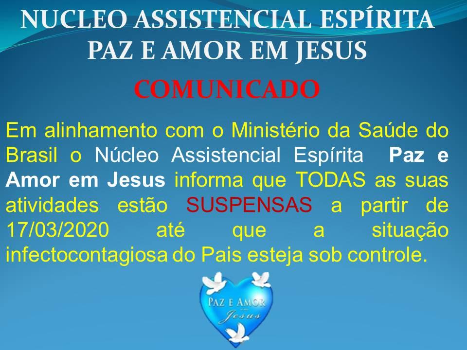 2020 03 19 COMUNICADO